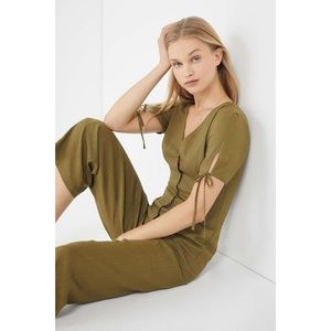 Urban Outfitters Linen Jumpsuit
